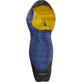 Nordisk Puk -2° Curve Sleeping Bag XL True Navy/Mustard Yellow/Black